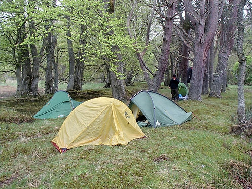 camping in aviemore