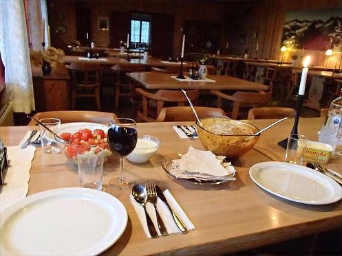 food in norwegian cabins