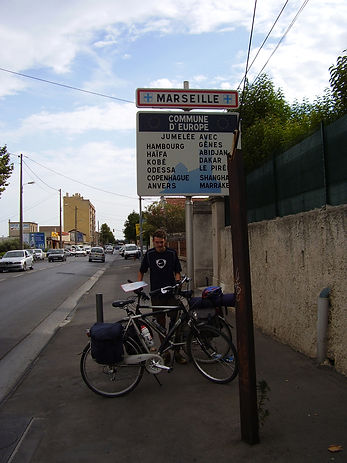 Cycling to Marseille