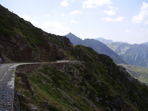 View from the Tourmalet