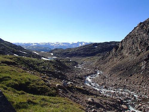 hiking north of narsarsuaq