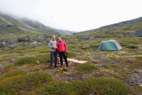 camping in greenland