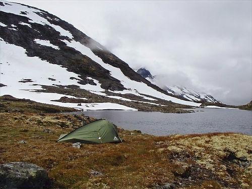 camping in jotunheimen