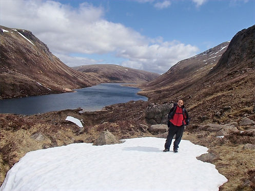 Lakes in the cairngorms