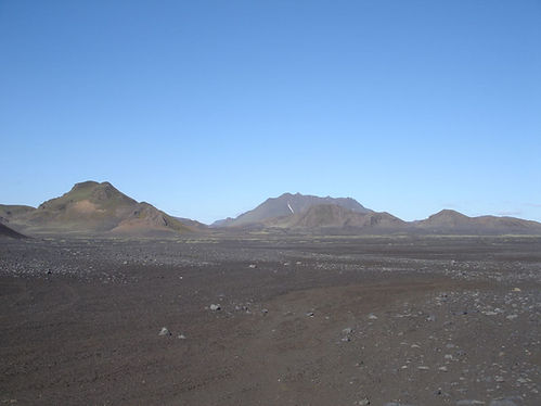 lavafields in iceland