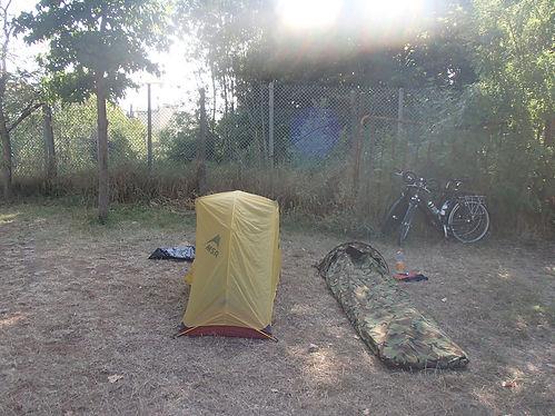 Italian campsite