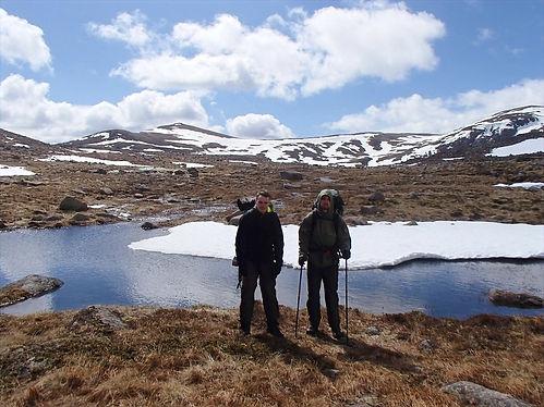 hiking in scotland