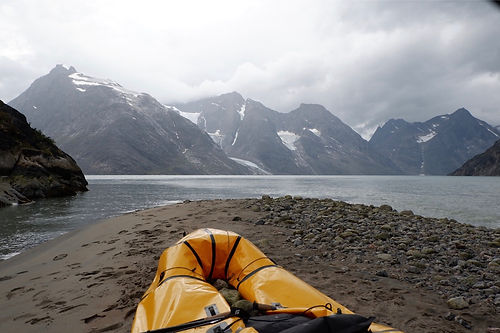 paddling eternityfjord