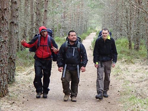 hiking in aviemore