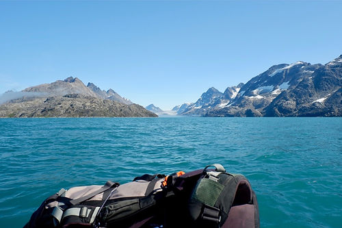 packrafting in the arctic