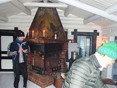 inside a norwegian cabin