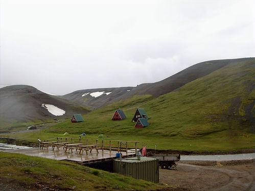 Icelandic cabins