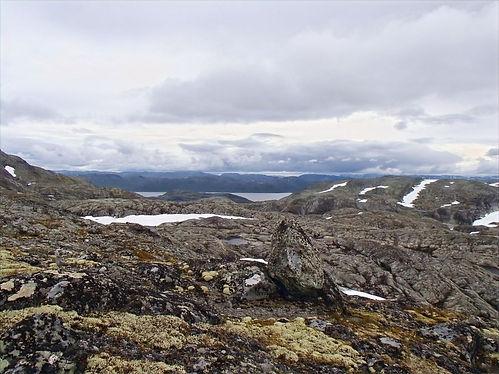 mountains in jotunheimen