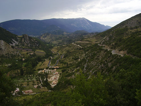 valley of the mont ventoux