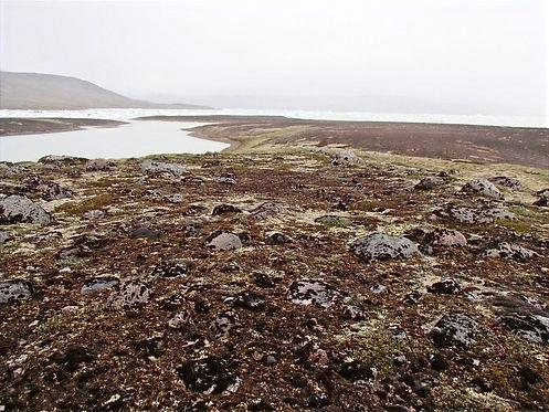 Inuit ruin in greenland