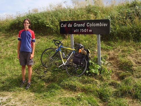 sumit of the col du grand colombier