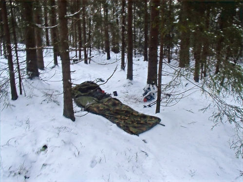 using a bivy bag in norway