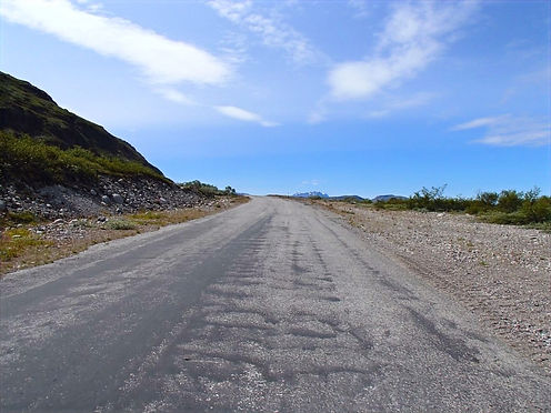 walking in narsarsuaq