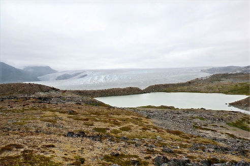 backpacking in greenland