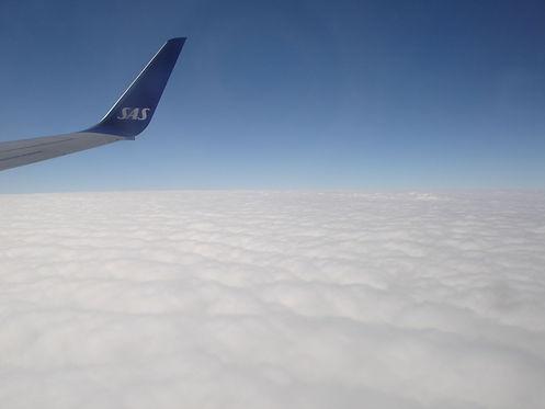 sas plan flying
