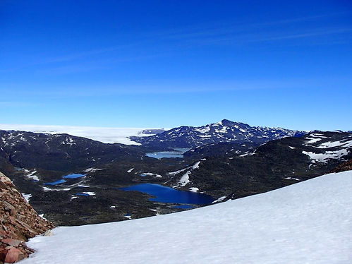 valley in greenland