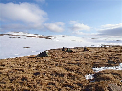 Camping in the cairngorms