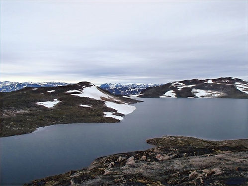greenland lakes