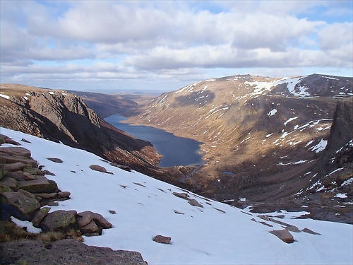 lake in the cairngorms