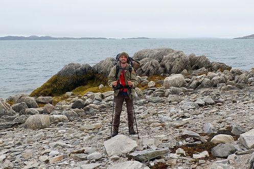 hiking in maniitsoq