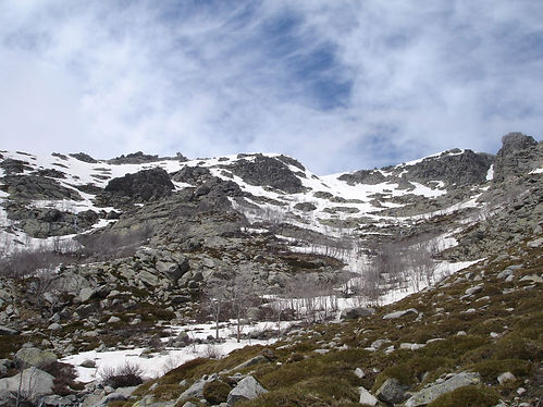 Mont Igual in the snow
