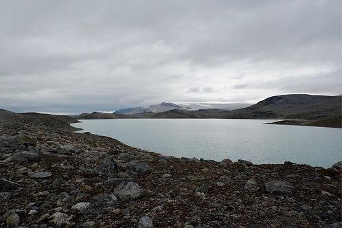 mountain plateau in greenland