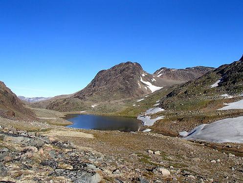 hiking south greenland