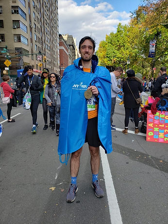 finish of the 2019 new york city marathon