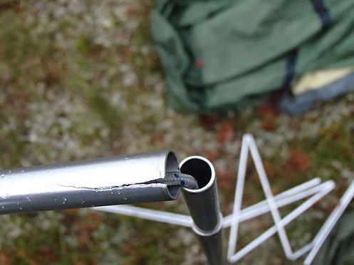 Broken tentpole