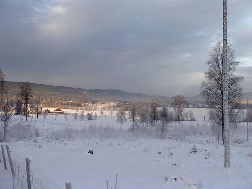 winter in norway villages
