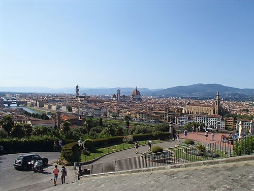 view over Florance