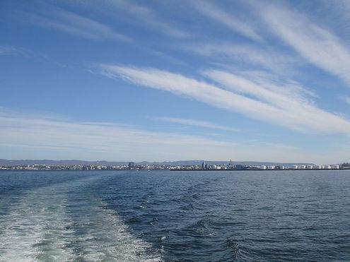 reykjavik from sea