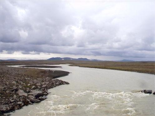 mountainous view in iceland