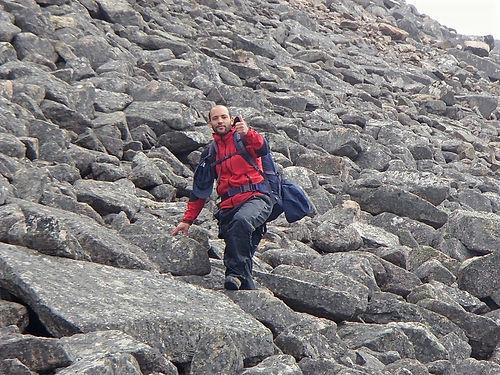 boulder fields in schotland