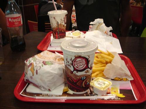 Burger king xxl menu