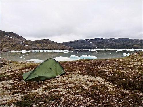 campingin south greenland