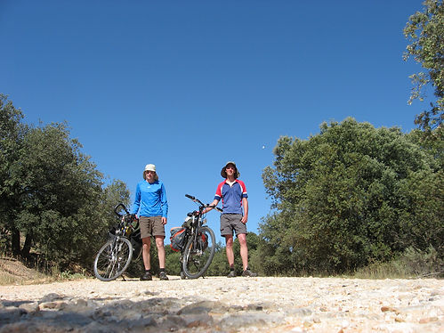 cycling in spain