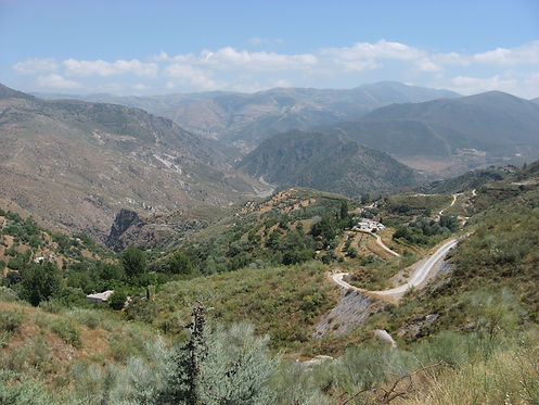 cycling mountains spain