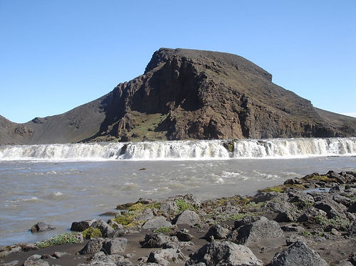 waterfal in iceland