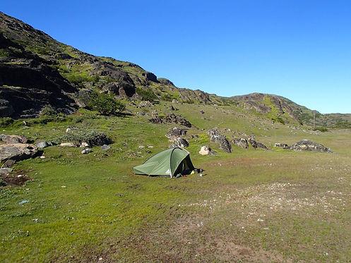 camping near narsarsuaq