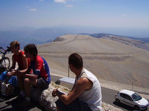 Summit of the Mont Ventoux