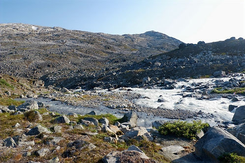 hiking in west greenland