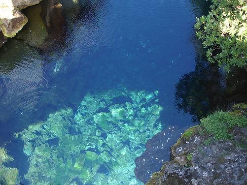 water in pingvellir