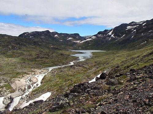 greenlandic valley