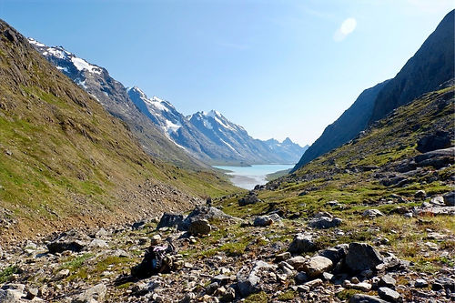 greenland backpacking